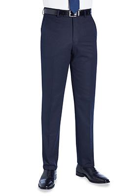 Apollo Flat Front Trouser Navy