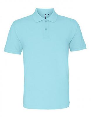 Asquith & Fox Men's Cotton Polo Shirt, Ocean