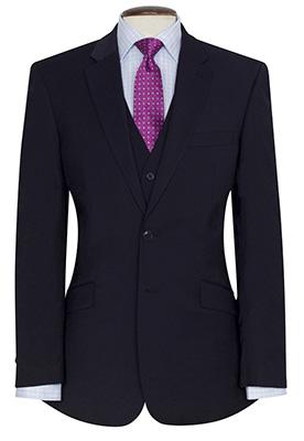 Avalino Tailored Fit Jacket Navy