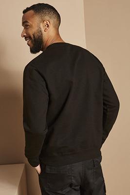 AWDis Sweatshirt, Black