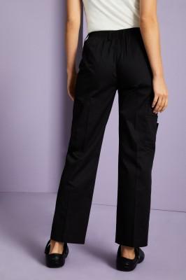 Female Cargo Pants, Black