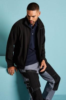 Men's Soft Shell Jacket, Black