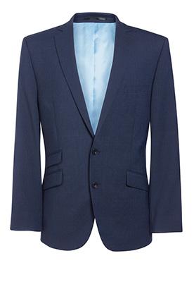Cassino Slim Fit Jacket Navy Check
