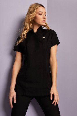 One Button Tunic, Black