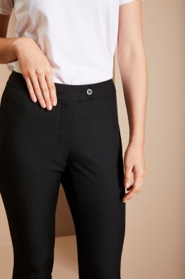 Slim Leg Beauty Pants, Black