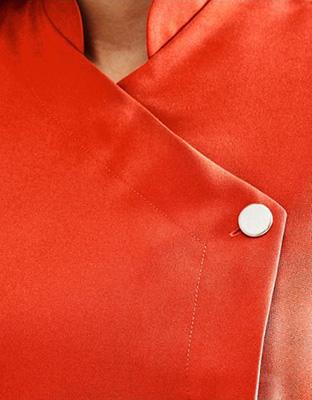 One Button Tunic, Orange