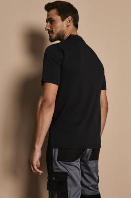 Henbury Coolplus Polo Shirt, Black