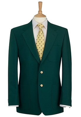 Henley Blazer Green