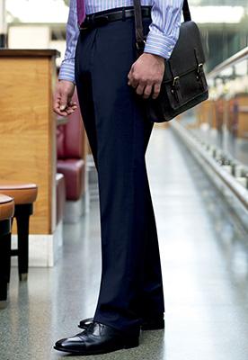 Imola Single Pleat Trouser Navy