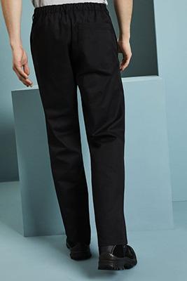 Pantalon de travail de base, régulier, noir2