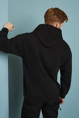 Sweat à capuche Workwear, noir2