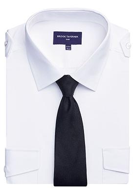 Olympus Classic Fit Pilot Shirt White