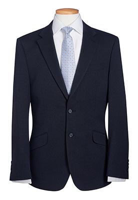 Phoenix Tailored Fit Jacket Navy P/Dot