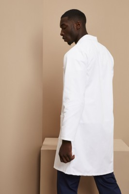 Men's Lab Coat C852, White