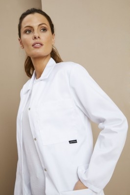 Women's Lab Coat LW63, White