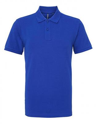 Asquith & Fox Men's Cotton Polo Shirt, Royal