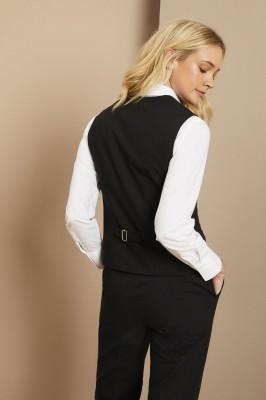 Qualitas Ladies Classic Vest, Black