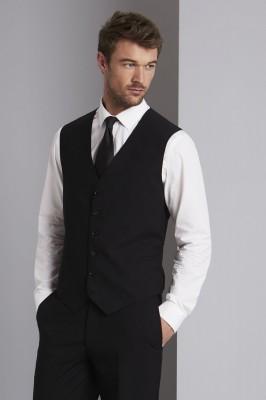Qualitas Men's Classic Vest, Black
