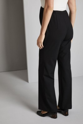 Maternity Parallel Leg Pants, Black