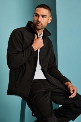 Regatta Mens Uproar Softshell Jacket, Black