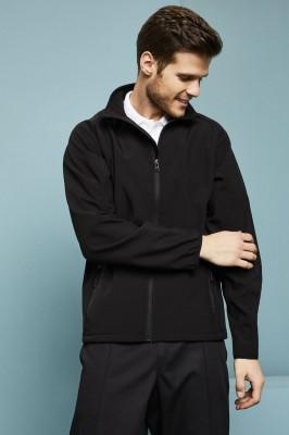 Result Unisex Printable Softshell Jacket, Black/Black