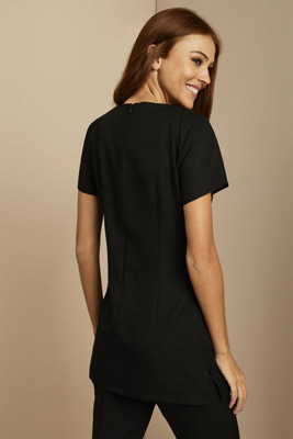 Side Pocket Tunic, Black