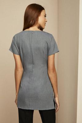 Tunique à poche latérale, gris2