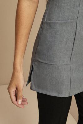 Tunique à poche latérale, gris3