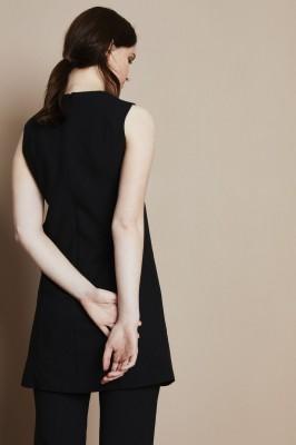 Select Ladies Sleeveless Tunic, Black
