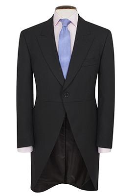 Lounge Jacket Black h/b