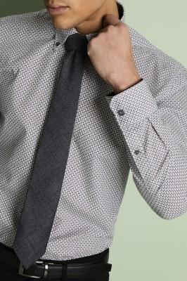 Tweed Tie, Grey