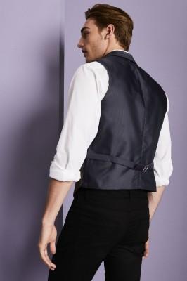Gilet Homme Tweed, Brun2