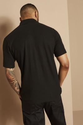 Uneek Unisex Polo Shirt UX1, Black