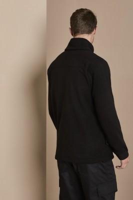 Unisex Anti-Pill High Performance Fleece Jacket, Black