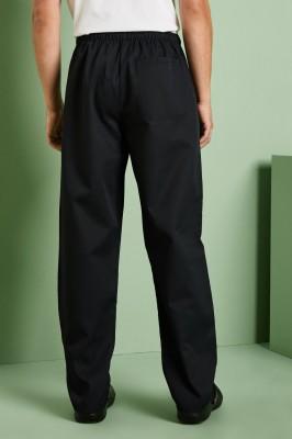 Unisex Drawstring Pants, Black