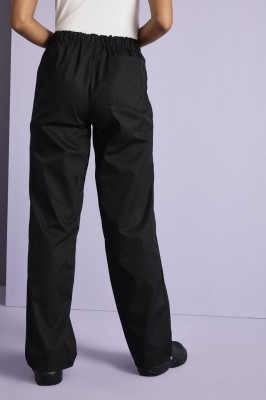 Unisex Smart Scrub Pants, Black
