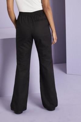 Ladies Bootleg Pants, Black