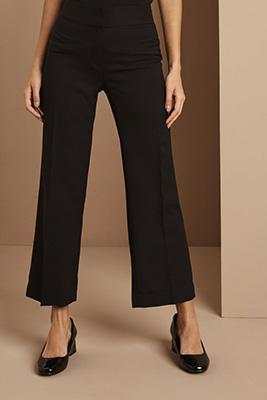 Pantalon court, long, noir