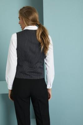 Prestige Ladies Vest, Morning Stripe