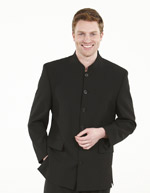 Prestige Men's Superior Banqueting Jacket (Fully lined), Black