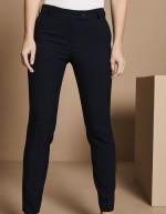 Pantalon femme Slim jambe, Select, Bleu marine