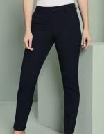 Pantalon femme Slim jambe, Select, Bleu Marine, Non ourlés