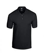 Gildan DryBlend Jersey Knit Polo, Black