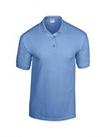 Gildan DryBlend Jersey Knit Polo, Mid Blue