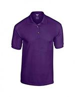 Gildan DryBlend Jersey Knit Polo, Purple