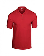 Gildan DryBlend Jersey Knit Polo, Red