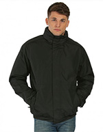 Regatta Mens Dover Jacket, Black/Ash