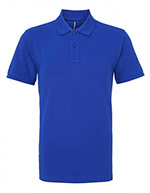 Asquith & Fox Men's Cotton Polo Shirt, Royal