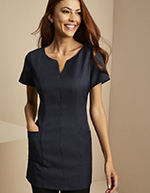 Side Pocket Tunic, Navy
