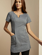 Side Pocket Tunic, Grey